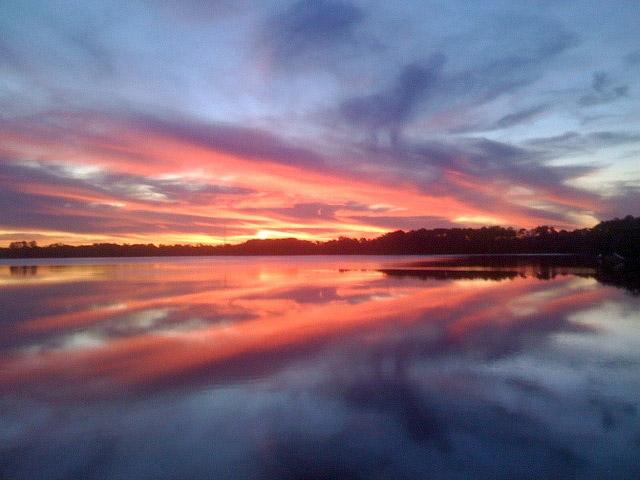 Floriday Sunset Enhanced
