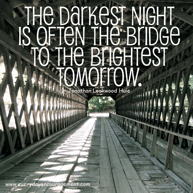 Bridge to the brightest tomorrow