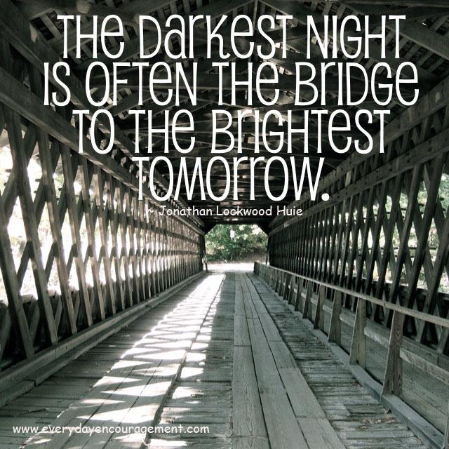 Bridge to the brightest tomorrow