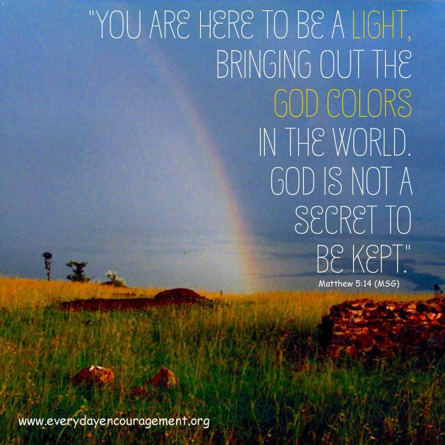 God Colors | everyday encouragement